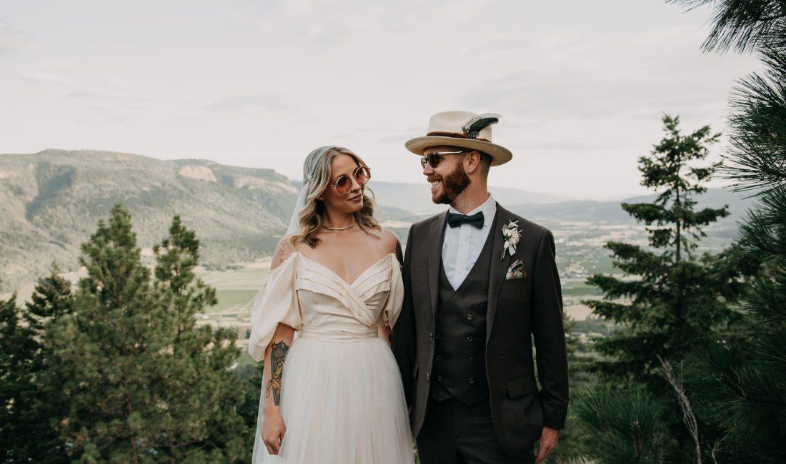 vernon wedding photographer, vernon elopement photographer